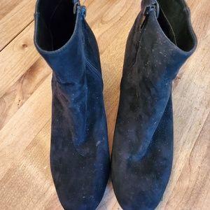 Merona Black Suede Boots